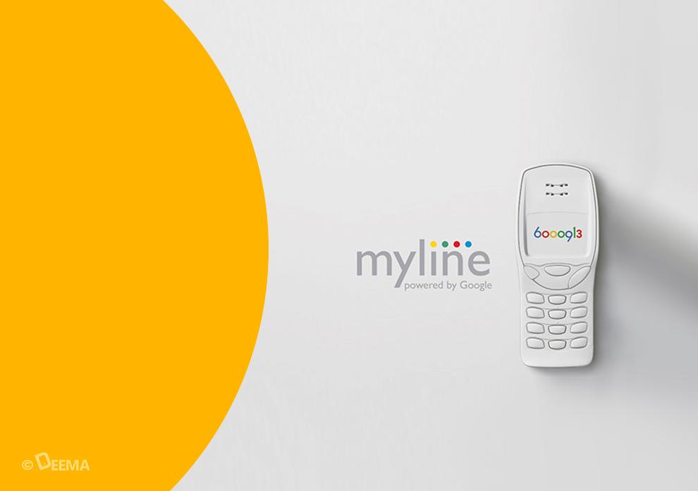 کمپین My Line گوگل