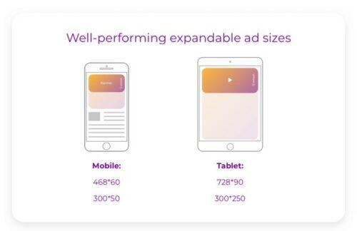 تبلیغات بسط¬پذیر (Expandable ads)