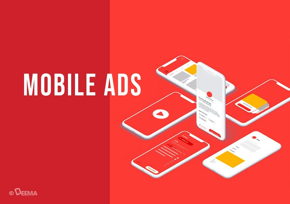 تبلیغات موبایلی و قالبها و اندازههای پرطرفدار در آن