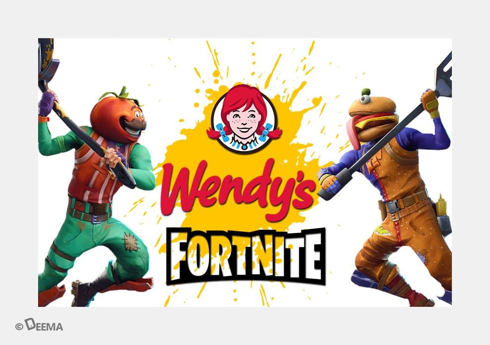 کمپین Keeping Fortnite Fresh – Wendy's برنده جنگ با گوشتهای یخزده