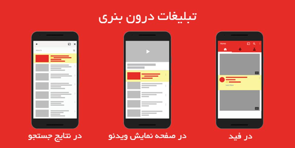 تبلیغات ویدیویی درون بنری