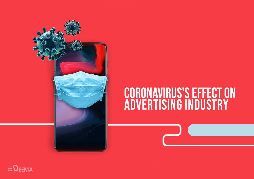 تاثیر کرونا بر صنعت تبلیغات و رسانه