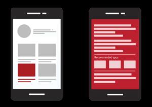 تبلیغات در اپلیکیشنها و موبایلوب