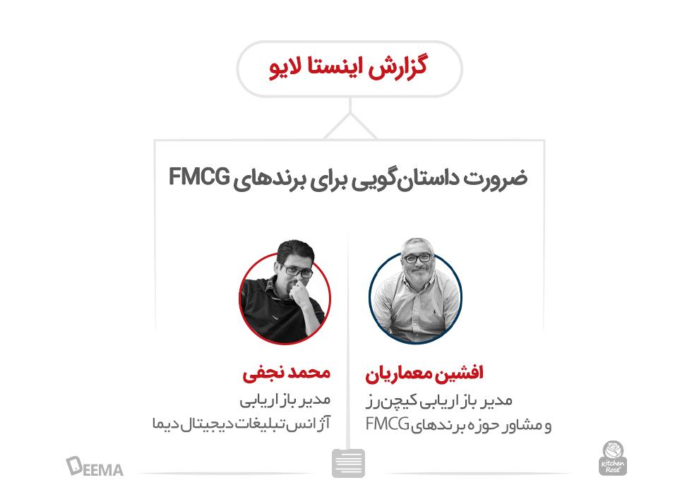 ضرورت داستانگویی برای برندهای FMCG: گزارش اینستالایو