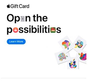 مثالی از تبلیغات نمایشی موفقیتآمیز برای اپل